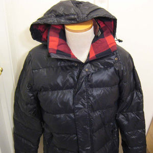 NIKE Mens 550 Goose Down Fill Hooded Puffer Jacket